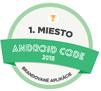 1st place ANDROID CODE 2015 Branded Applications