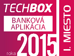 1st place TECHBOX BANKING APPLICATION 2015