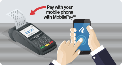 Pay with your mobile phone