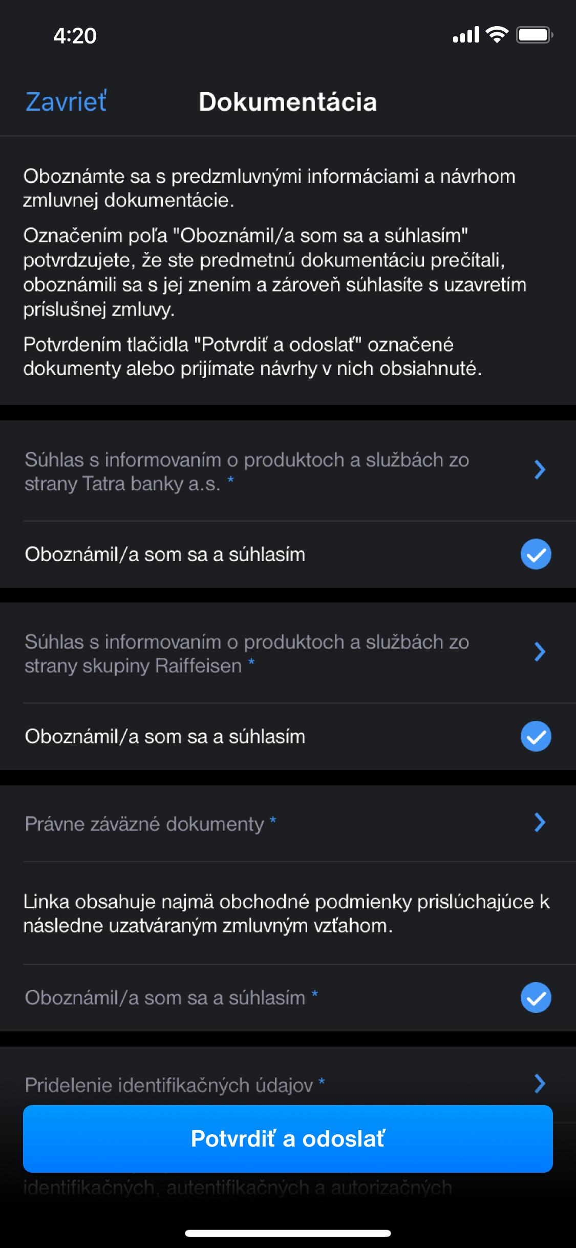 Ako si založiť <b>Digitálny</b>účet<sup>TB</sup> vaplikácii Tatrabanka