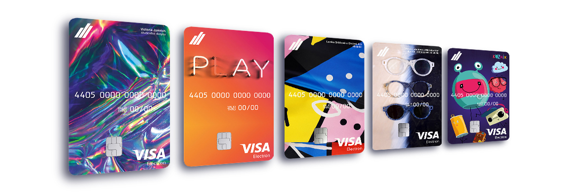 Payment card for students instantly at the branch - no waiting!