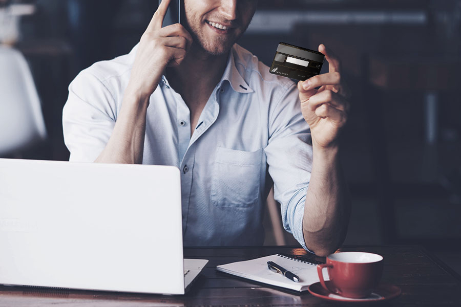 A credit card without the need to maintain a current account